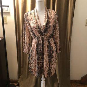 Bar III snakeskin dress